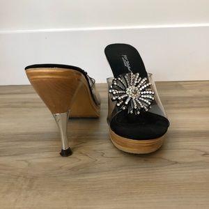 Betsey Johnson Slip-on Heel